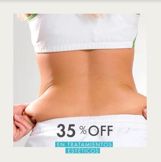 35% OFF en Tratamientos Estéticos