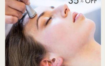 35% OFF en Tratamientos Faciales