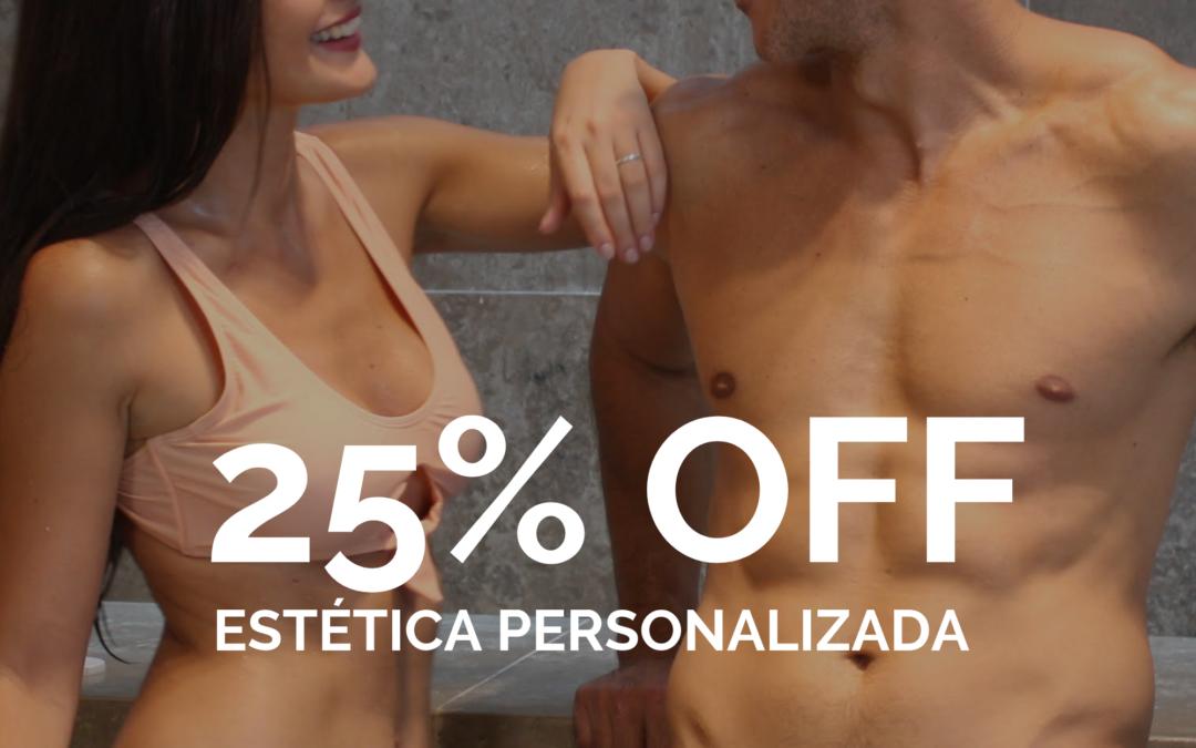 Tratamientos faciales y corporales. 25% OFF